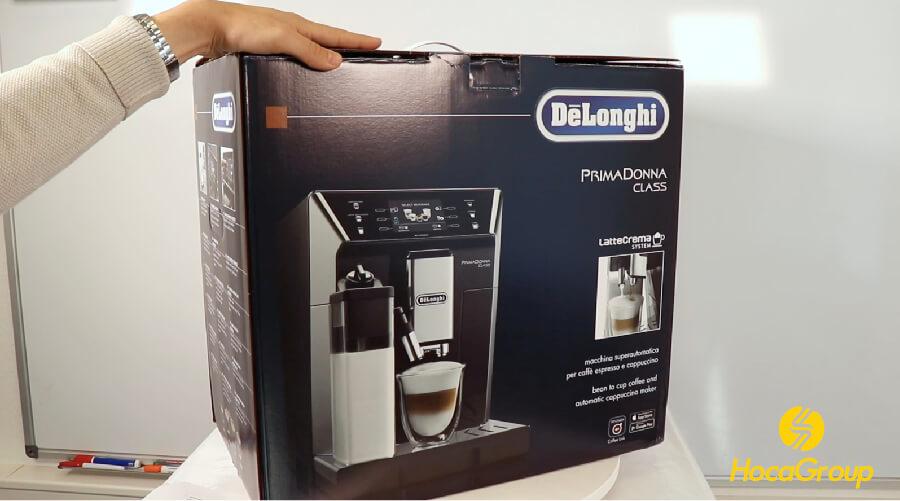 nguyên thùng máy pha cà phê tự động Delonghi Ecam 556.55