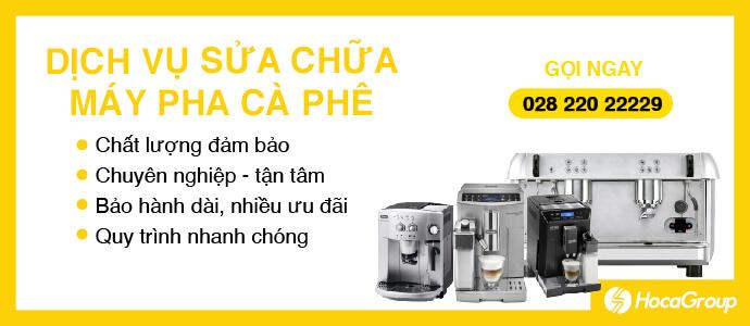Sữa chữa máy pha cà phê Quán – Gia Đình – Văn Phòng
