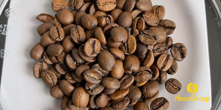 Cà phê mới rang nguội