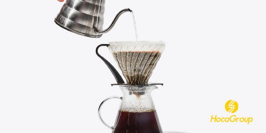 sử dụng phương pháp pour over giúp bạn có những ly cà phê thơm ngon sạch vị