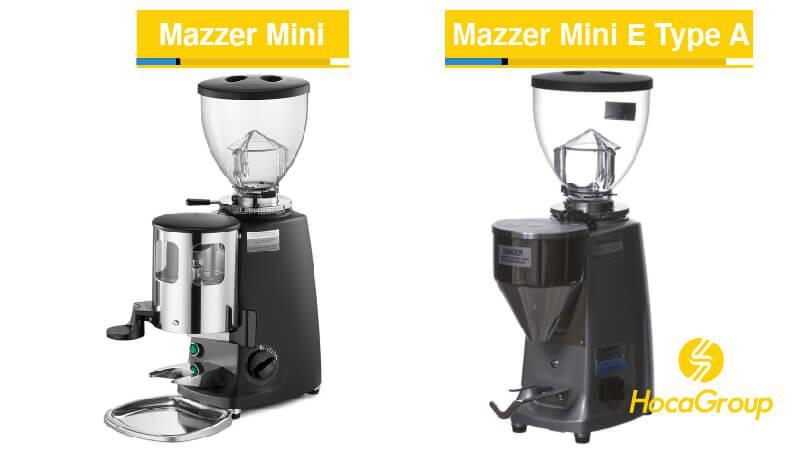 Mazzer Mini doser, Mazzer Mini E Type A và Mazzer Mini E Type B