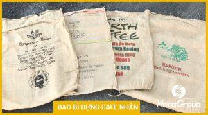 Các loại chất liệu bao bì để bảo quản cà phê nhân ?