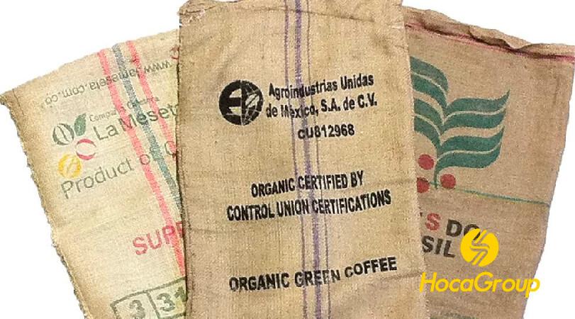 Vải bố/ vải bạt (Burlap) bảo quản cà phê nhân