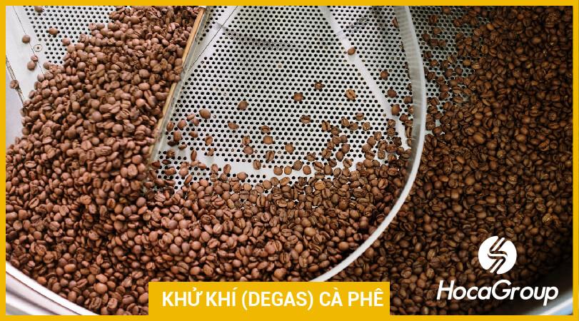 Khử khí có ý nghĩa gì đối với việc pha cà phê