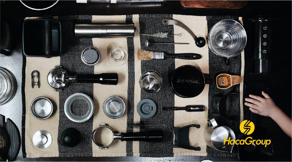 Dụng cụ, trang thiết bị pha chế
